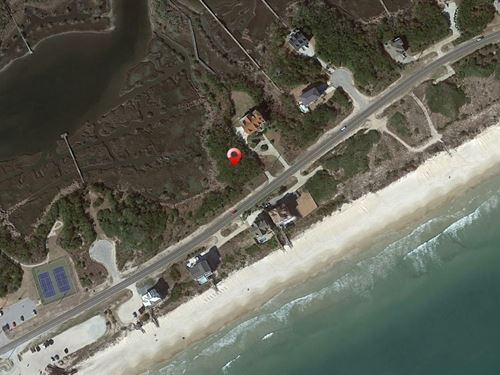 Over 2 Acres North Topsail Beach : North Topsail Beach : Onslow County : North Carolina