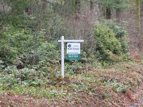 Harstine Island Prime Development : Shelton : Mason County : Washington