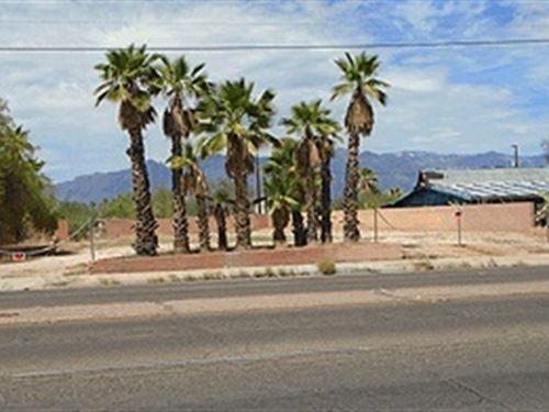 Tucson Az Land, Mountain Views : Tucson : Pima County : Arizona