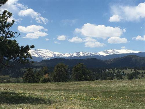 Colorado Mountain Ranch Hunting : Livermore : Larimer County : Colorado