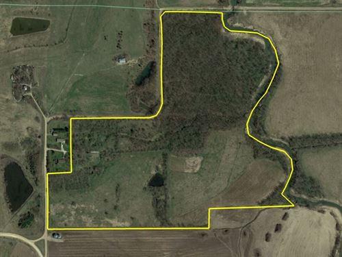 100 Acre Hunting Property For Sale : Lovilia : Monroe County : Iowa