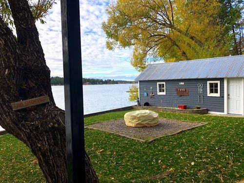 Lake Blaine Waterfront : Kalispell : Fallon County : Montana