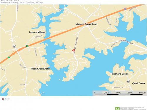 Lot 42 Tall Ship Residential Lot NE : Anderson : South Carolina