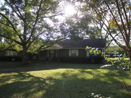 5 Acres With A Home In Marion Count : Foxworth : Marion County : Mississippi