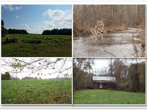 627.50 Acres, Creeks, Ponds, Cabins : Whitleyville : Clay County : Tennessee