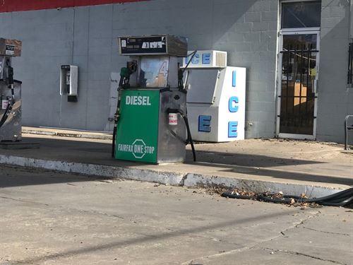Commercial Business, Fairfax Okla : Fairfax : Osage County : Oklahoma