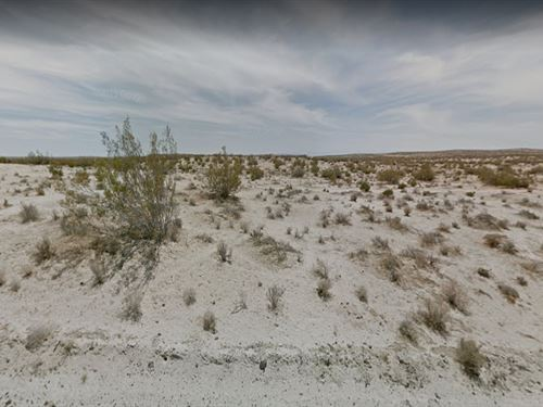 Live In This 2.03 Acres Lot In Ca : California City : Kern County : California