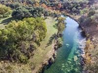 Hill Country Ranch On Bear Creek : Fredericksburg : Gillespie County : Texas
