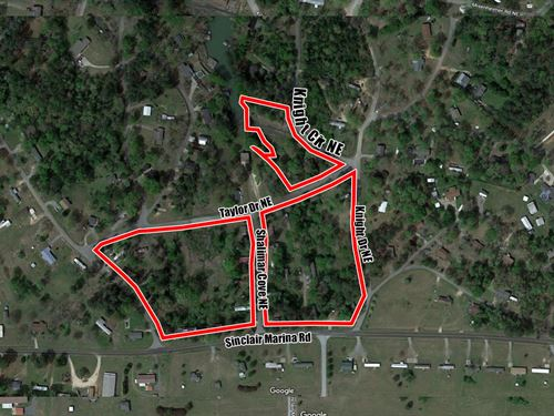 15.5 Subdivided Acres : Milledgeville : Baldwin County : Georgia