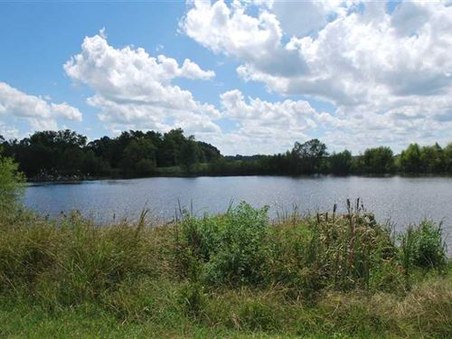 Great Lot With Pond : Hope Hull : Lowndes County : Alabama