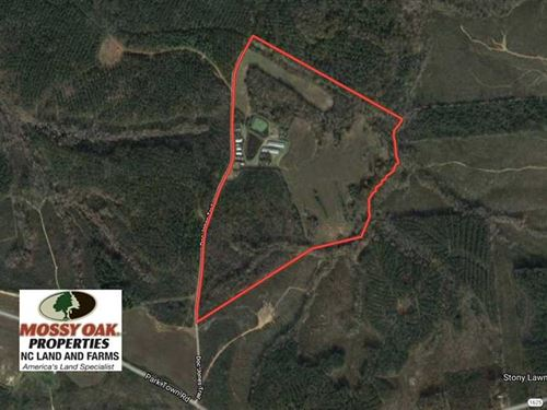 80 Acres of Hunting And Farm Land : Warrenton : Warren County : North Carolina