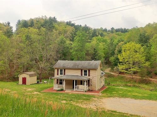 Farm in Shawsville VA For Sale : Shawsville : Montgomery County : Virginia