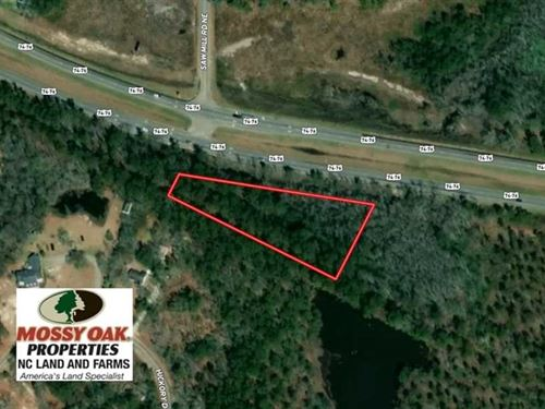 Under Contract, 1.71 Acre Lot For : Leland : Brunswick County : North Carolina