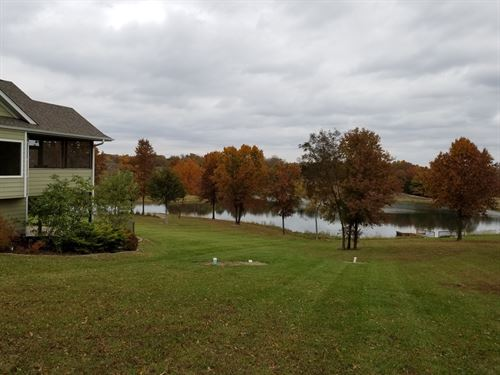 Country Home Private Lake, Hunting : Glasgow : Howard County : Missouri