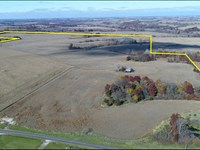 Missouri Farm, Scotland Co Row Crop : Memphis : Scotland County : Missouri