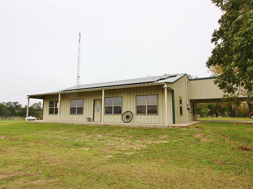 Country Home Acreage Teague, TX : Teague : Freestone County : Texas