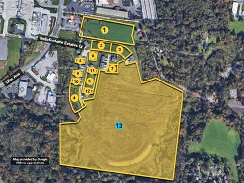 4 Development Lots Grouped as 1 : Saint Louis : Missouri