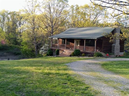 Country Home In Missouri Ozarks : Pottersville : Howell County : Missouri
