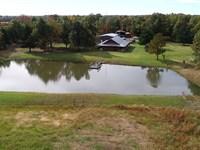 41.55 Acre Log Home : Blossom : Lamar County : Texas