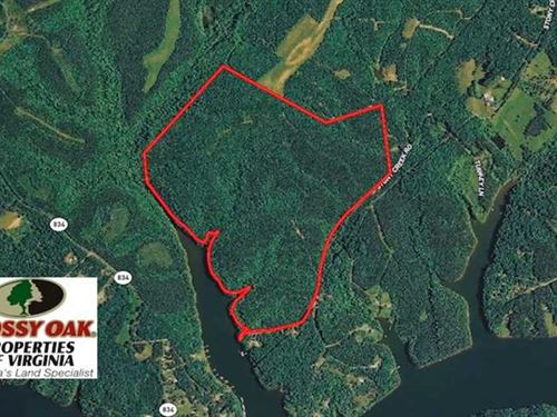 Reduced, 238 Acres of Lakefront : Leesville : Bedford County : Virginia