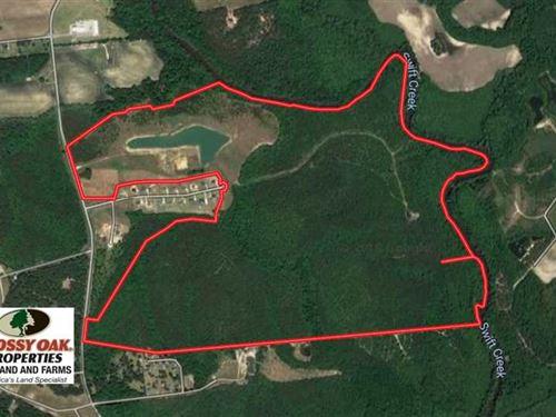 366 Acres of Development Land For : Vanceboro : Craven County : North Carolina