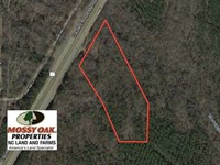 11.28 Acres of Residential Land Fo : Sanford : Lee County : North Carolina