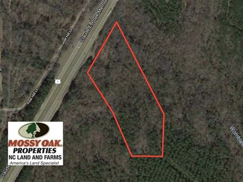 11.9 Acres of Residential Land For : Sanford : Lee County : North Carolina