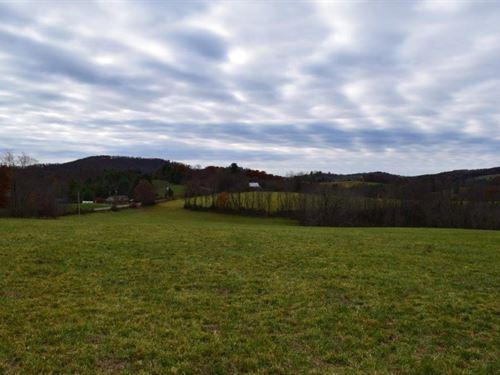 Open Pasture Land in Floyd VA : Radford : Floyd County : Virginia