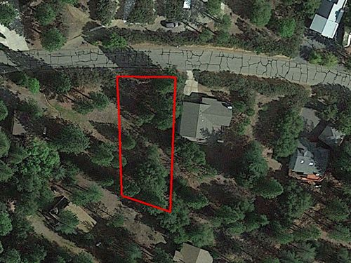 Hillside Residential Lot Near Lake : Groveland : Tuolumne County : California