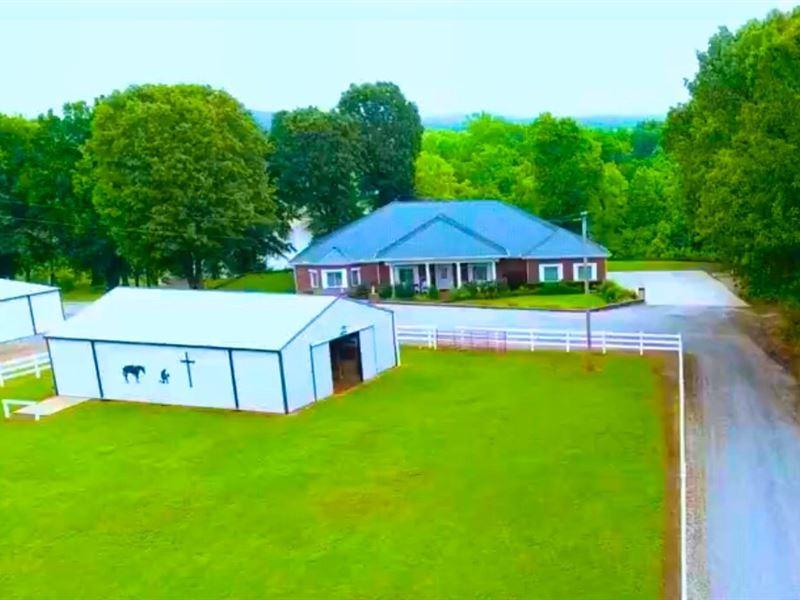 Arkansas Riverfront Horse Property : Pocahontas : Randolph County : Arkansas