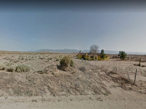 10.34 Lot For You In Palmdale : Palmdale : Los Angeles County : California