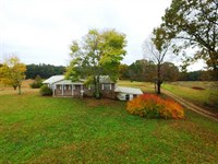 Home And Income-Producing Crop Land : Phil Campbell : Franklin County : Alabama
