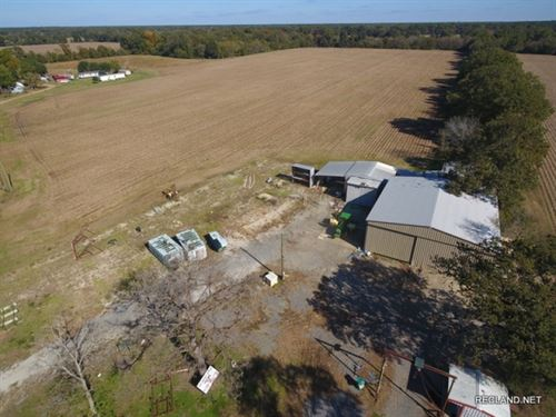 20 Ac, Farm & Large Metal Shop : Mangham : Franklin Parish : Louisiana