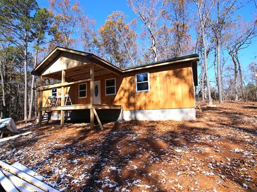 New Secluded Country Home in Ozarks : Gainesville : Ozark County : Missouri