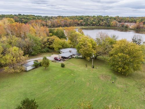 Waterfront Home Southeast Oklahoma : Fort Towson : Choctaw County : Oklahoma