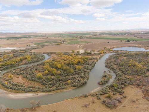 Big Horn River Estate : Worland : Washakie County : Wyoming