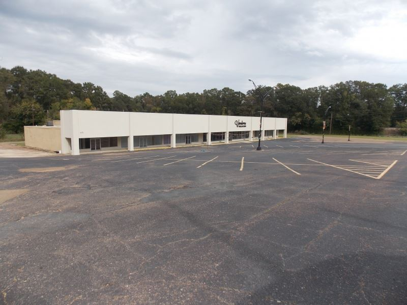 Shopping Center In McComb : McComb : Pike County : Mississippi