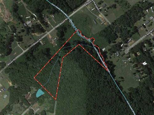 9.07 Acres in Belton, Anderson : Belton : Anderson County : South Carolina