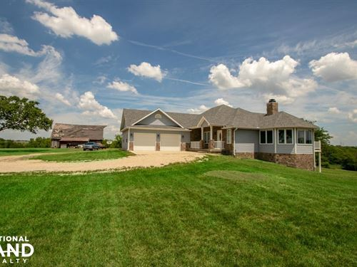 Beautiful Country Home And Land Nea : Burlingame : Osage County : Kansas