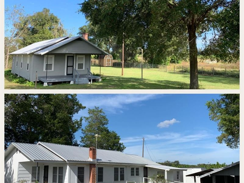35 Acres & Cracker Home Chiefland : Chiefland : Levy County : Florida