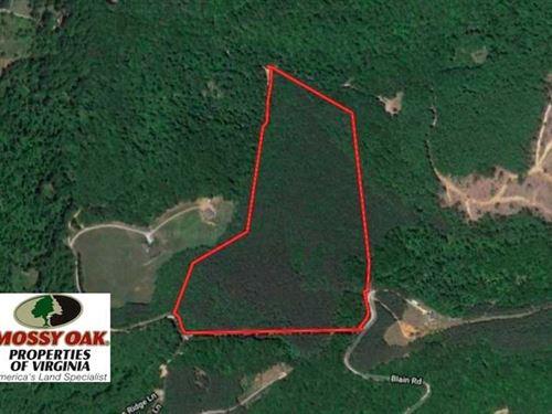 Under Contract, 40 Acres of Recre : Buchanan : Botetourt County : Virginia