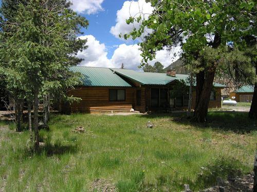 South Fork Cabin : South Fork : Rio Grande County : Colorado