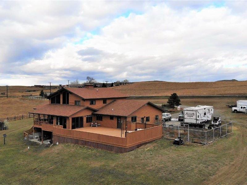 Beautiful Billings Area Home : Billings : Yellowstone County : Montana