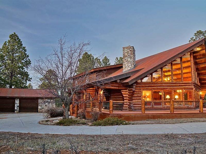 Log Home Ridgway Colorado Log Hill : Ridgway : Ouray County : Colorado