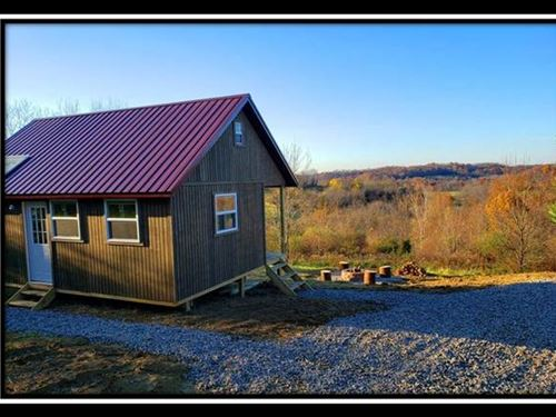 Valley View Cabin : Chandlersville : Muskingum County : Ohio