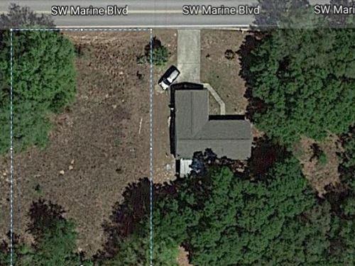 Marion County .24 Acres $36K : Dunnellon : Marion County : Florida