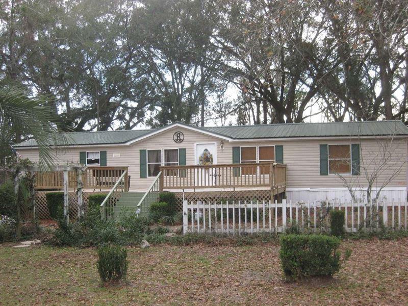 Beautiful Home Quiet Peaceful : Live Oak : Suwannee County : Florida