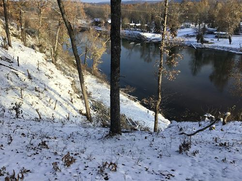 River Frontage Above Flood Line : Doniphan : Ripley County : Missouri
