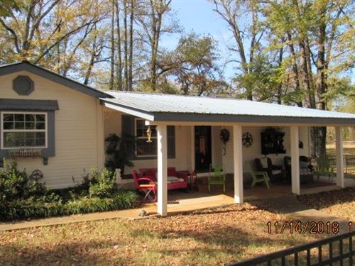 Country Home 5 Acres Fort Towson : Fort Towson : Choctaw County : Oklahoma