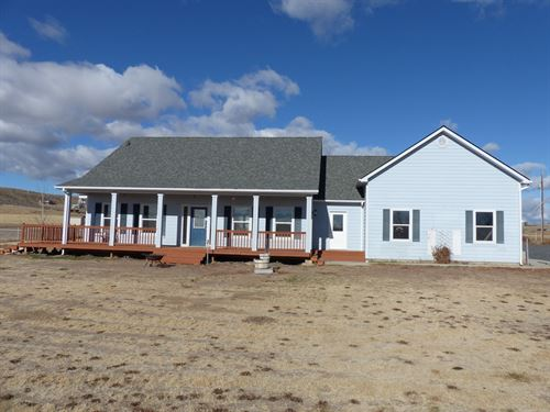 Custom Home 5+ Acres Paradise Acres : Burns : Harney County : Oregon